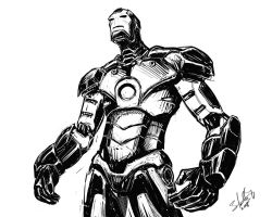 Iron Man by ryuzo