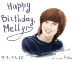 Gift: Taemin for Melly by Nekoto-A-de-A