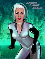 Amber Lynne Black In SPACE By alx234 by zenx007