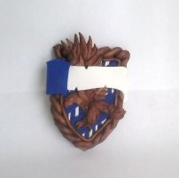 WIP - Ravenclaw Badge by alternativeicandy