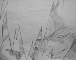 Kamina's Final Moment by FearsomeX23