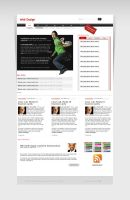 New Wordpress template by balentheen