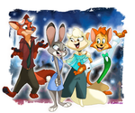 Zootopia and CDD Crossover by Spicy-Demon