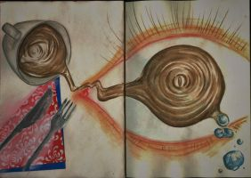 journal page #006/007  -  Coffee by AmberSquash