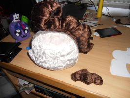 Baby Cakes plushies - work in progress - by jrk08004