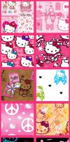 Hello Kitty Set 2 by kvaughnp3