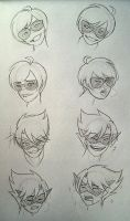 Strider Facial Practice - Perv Edition - by mother-noroi