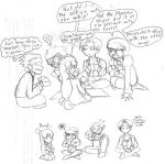 Phoenix Wright: Game Night by androidgirl