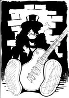 Slash Notte Bianca 2011 sketch by deanfenechanimations