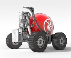 Red Bubble AntiFireVehicle by Steambot