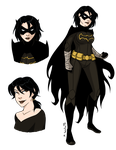 Young Justice Black Bat by msciuto