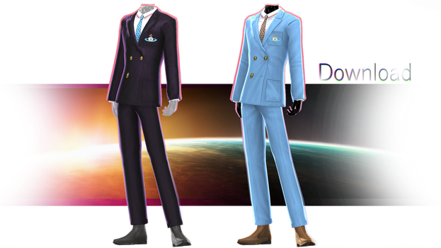 TDA Fitted G-Dragon Suits [DOWNLOAD] by NEPHNASHINE-P