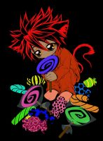 Kitty Got Sweet Tooth - Colore by Kraheera