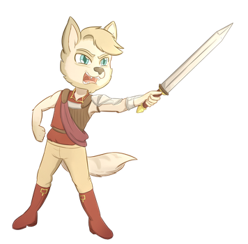 Commission: Caladrius by foxhat94
