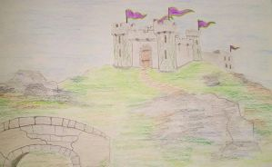 May Art Challenge: Medieval Castle by Scrub456
