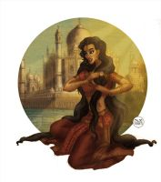 Indian princess by LaTaupinette