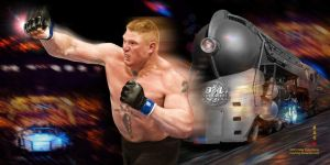 Brock Lesnar -Ultimate Express by MayFong