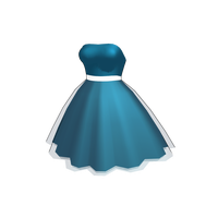MMF short blue dress by MikuMikuFashion