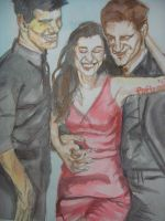 Taylor, Kris, and Rob by fbforbill