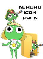 Keroro icon pack download by ANTONIOMASTERPERES