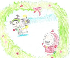 Merry Christmas- Pucca by Moonstone27
