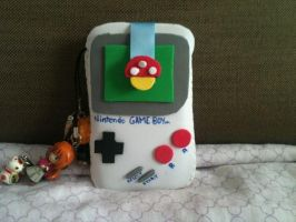 Game Boy Mobile Case by anapeig