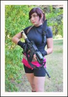 Claire Redfield Cosplay 3 by LeonStefantKennedy