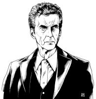 The Twelfth Doctor 1 (2014) Inks by SteveAndrew