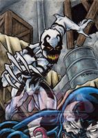 Anti-Venom - Sketch Card by tonyperna
