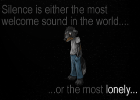 100ThemeChallenge--silence by Colliequest