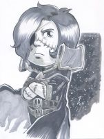 Grey Marker Space Pirate Captain Harlock by dekarogue