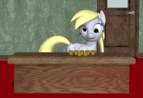 Derpy - You've Got to Have a Muffin or Two by Rachidna