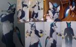 Repede Cosplay Fursuit Updated by Exile-wolfy