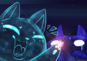 Space Kitties by Artzipants