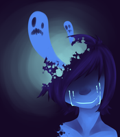Monsters in my head by Polkadot-Creeper
