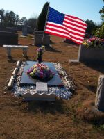 American Soldier's Grave by brittanyxm0