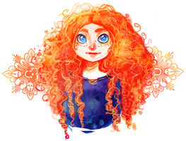Merida Portrait by YukiHyo