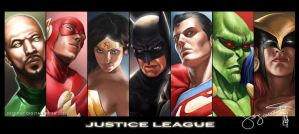 JUSTICE LEAGUE by earache-J