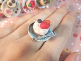 Fruit Tart Ring by CandyChick