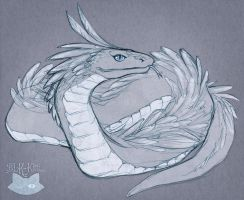 Feathered Serpent by blk-kitti