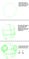 MS paint lineart tutorial by AtashiChan