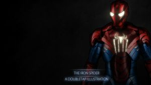 The Invincible Iron Spider by iamherecozidraw