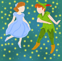 Peter and Wendy by caspisan