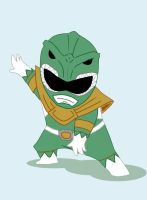 Go Green Ranger GO by dalf-rules