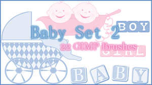GIMP Baby Set2 by Illyera