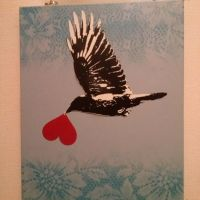 Doves of Peace,Ravens of Love? Full canvas by PURE911