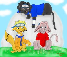Team Seven Just Chillin..... by Mytokyokitty