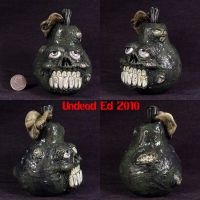 Rotten Fruit Pear Porcelain by Undead-Art