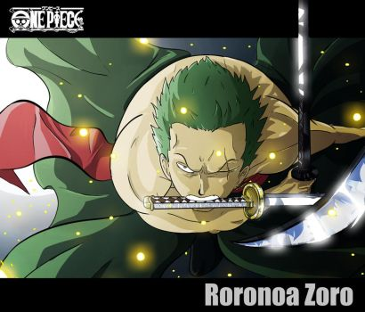 One piece- Roronoa Zoro by ObakeKingu