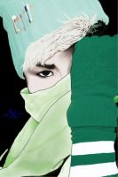 B.A.P Choi Junhong(Zelo) Fanart (digital one) OUO by swagsterlionel